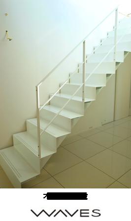 オリガミ階段 WAVES