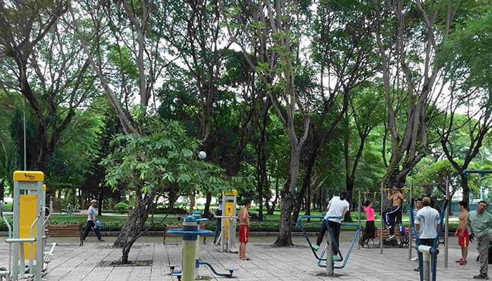 ベトナムの公園