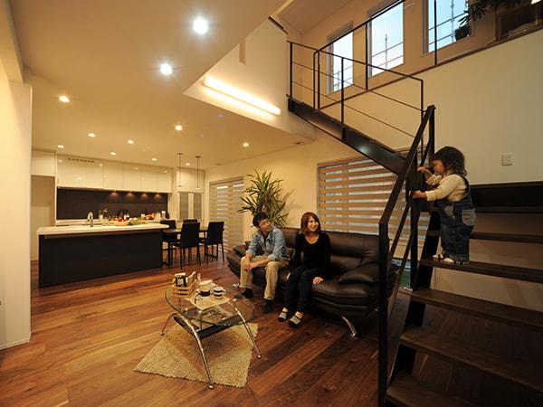 スチール製シースルー階段『ObjeA』 コンセプト