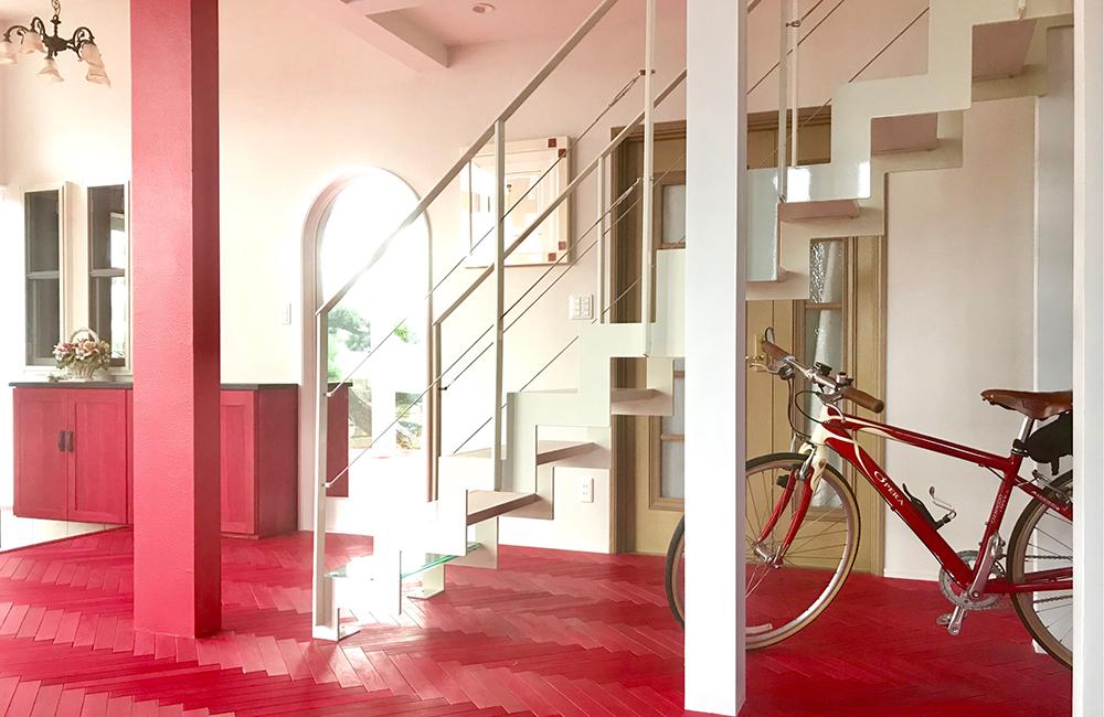 玄関に階段を設置した場合