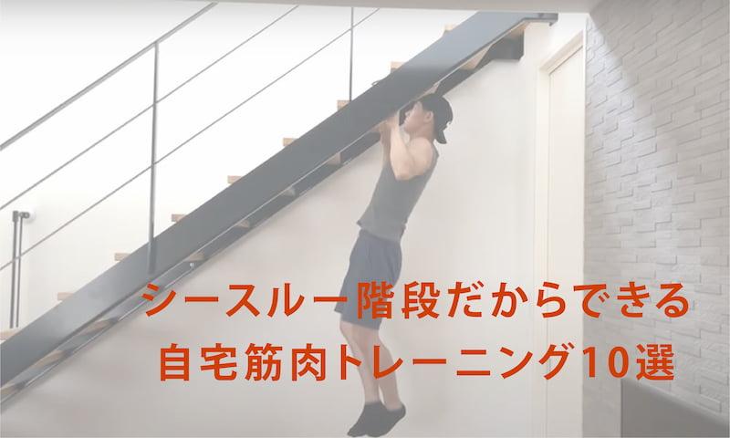 自宅 階段 トレーニング 運動