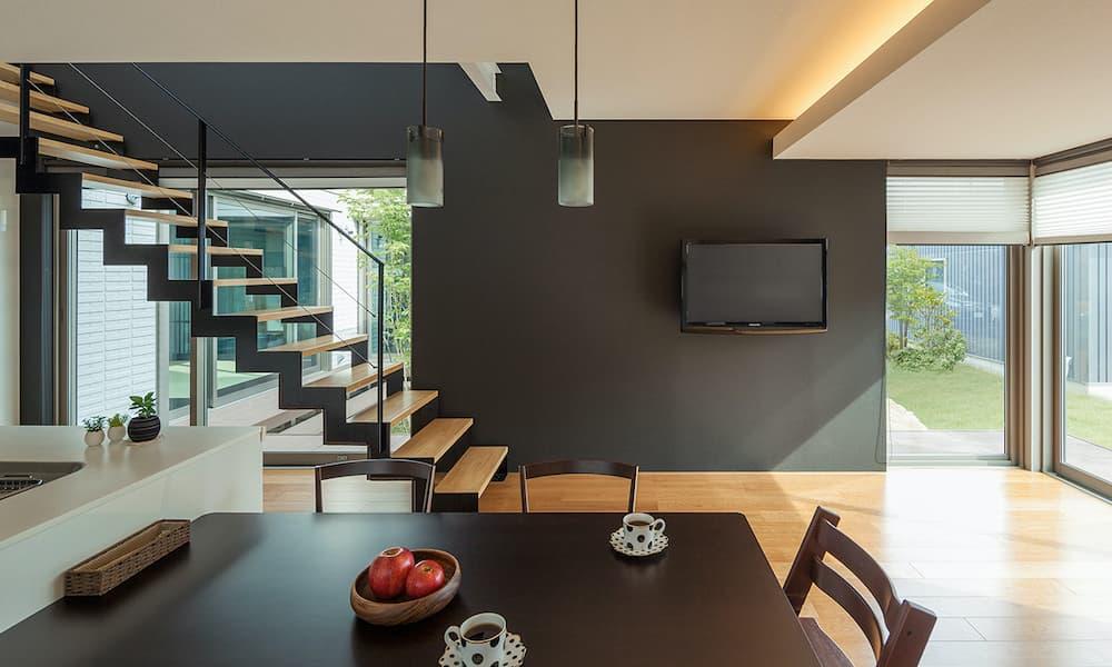 階段の種類_形状_ストレート