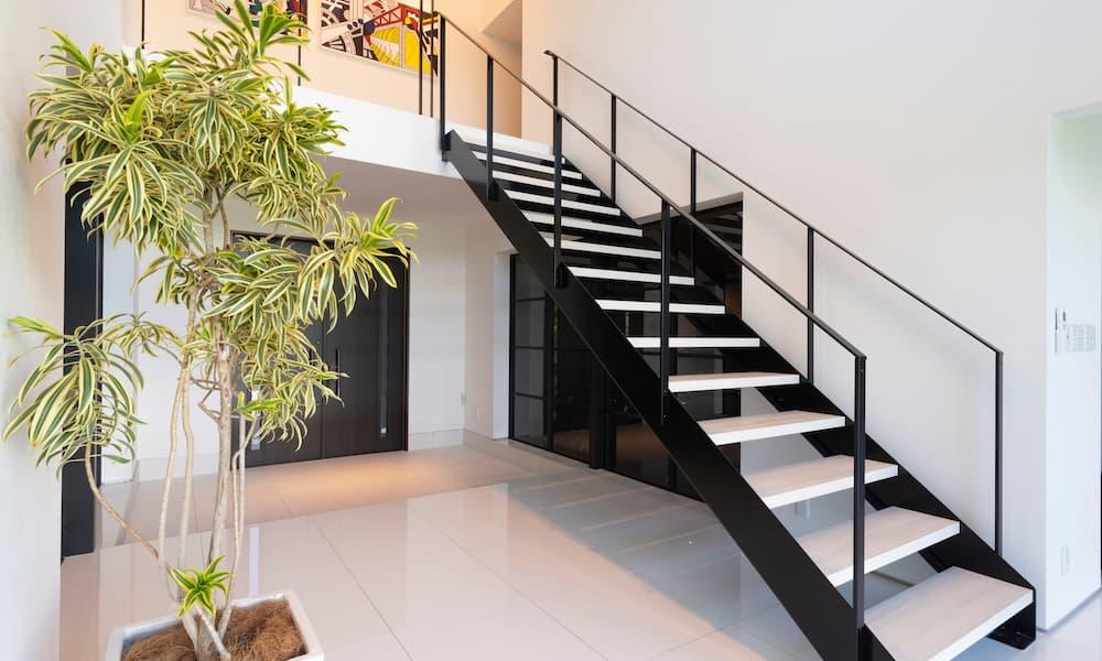 階段の種類_ささら桁_側桁