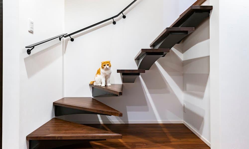 階段の種類_形状_フローティング